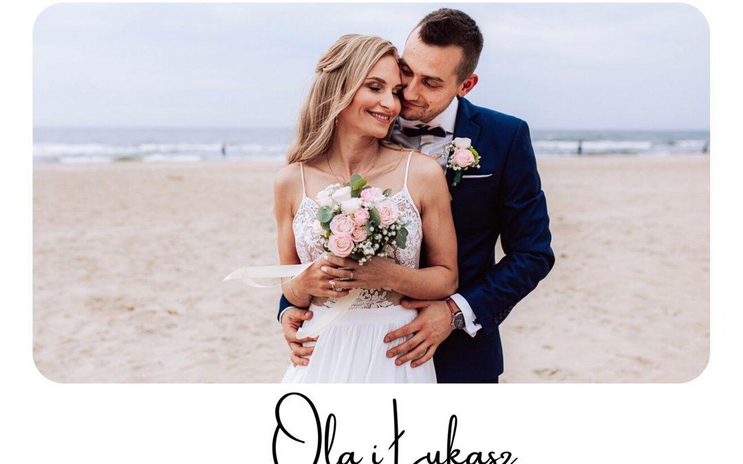 Zabezpieczony: Ślub Oli i Łukasza